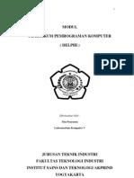 Modul Pemrograman Komputer (Delphi)