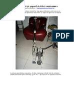 Como Construir Un Pedal de Hi-Hat