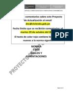 Proyecto Actualizacion Norma e050 Set 2013