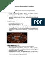 Workforce Diversity and Organizational Development