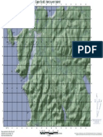 Cape Scott Topographic map