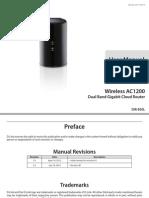 Dlink Dir-850l Revb Manual 2.00 en Us