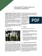 Organización Para La Cooperación y El Desarrollo Económicos
