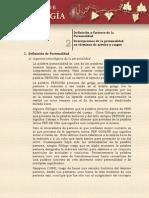 2. Definicion y Factores de La Psicología