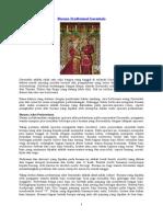 Busana Tradisional Gorontalo