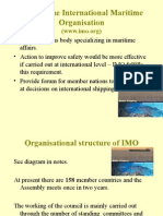 Role of the International Maritime Organisation
