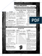 Necromunda 2nd [p143-144] PlaySheet