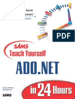Sams teach yourself ADO.NET in 24 hours - Jason Lefebvre, Paul Bertucci.pdf
