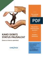 Kako Dobiti Status Pausalca (1)