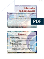 Materi 1. Foundation for IT Audit and Control Part 1