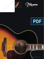 Takamine Brochure 2007 Uk