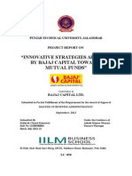 Bajaj Capital Innovative Marketing Strategies Used by Bajaj Capital Towards Mutual Funds