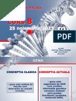 Genetica MD - Curs 8 - Noiembrie 2013