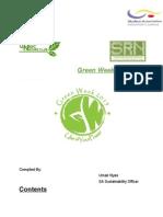 Green Week 2k15 Proposal