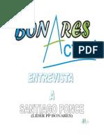 ENTREVISTA A SANTIAGO PONCE