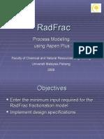 Aspen Workshop Radfrac