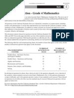 Grade 4 mathematics exam