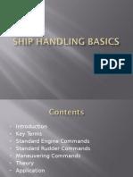 Ship handling basics
