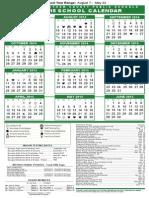 14-15 Sccps Calendar Savannah