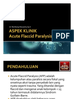 Aspek Klinik Acute Flaccid Paralysis (AFP)
