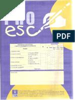 PRO ESC - Cuadernillo