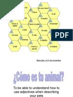 Como Es Tu Animal