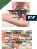 Penggunaan Antibiotika Secara Bijak