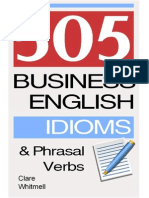 505 Business English Idioms