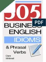 505 Business English Idioms
