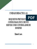 LINUX - Requisitos Previos Para Configurar Linux Como Controlador