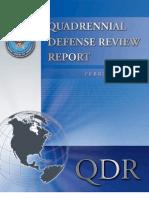 Quadrennial Defense Review Report February