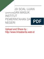 Bahasa Indonesia (Soal)