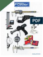Fowler instrument Catalogue