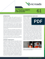 NonDestructive Testing NDT of Concrete in Structures