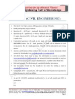 GATE Civil Engineering 2015_Mock 3