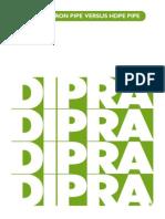 Comparison Between DI & HDPE Pipes 30April