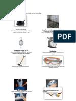 Alat Dan Bahan Untuk Keperluan Survey Timbulan