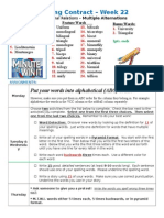 Spelling Contract Week 22 - 2014 to 2015 - Derivational Relations.doc