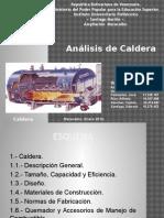 Análisis de Caldera
