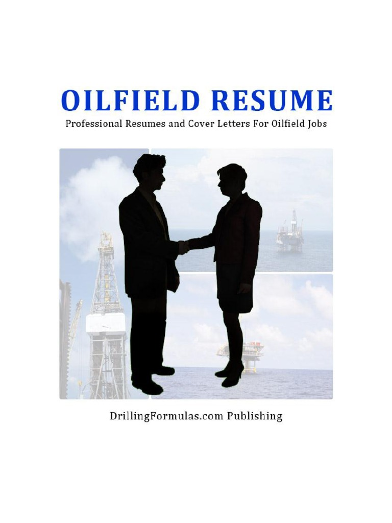 Oilfield Resume eBook | Résumé | Drilling Rig