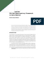 Legal Pluralism - The New Emancipatory Framework in Latin America