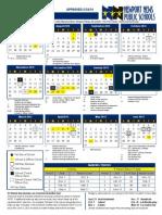 Calendar Newport 2015