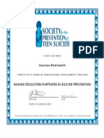 spts certificate march  12, 2013