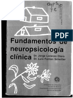 La Neuropsicologia,Articulacion Del Cerebro y La Mente Cap 1 y 2 Las Redes Neurocognitivas de Gran Escala de Fundamentos de Neuropsicologia Clinica