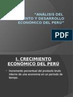 Análisis Del Crecimiento y Desarrollo Económico Del