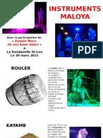 Instruments Maloya