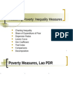 Measures of Inequality