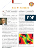 H-Band and RH-Band Steels