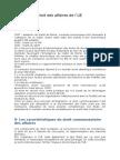 Droit Des Affaires de l'UE