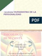 Teorias Humanistas de La Personalidad